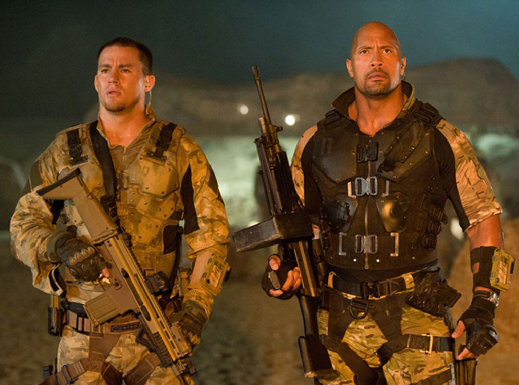 GI Joe Retaliation, Channing Tatum, The Rock