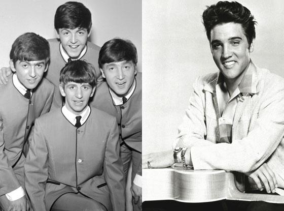 Beatles, Elvis
