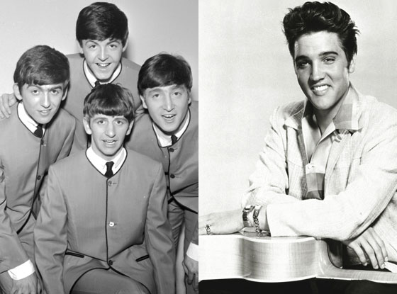 Beatles, Elvis