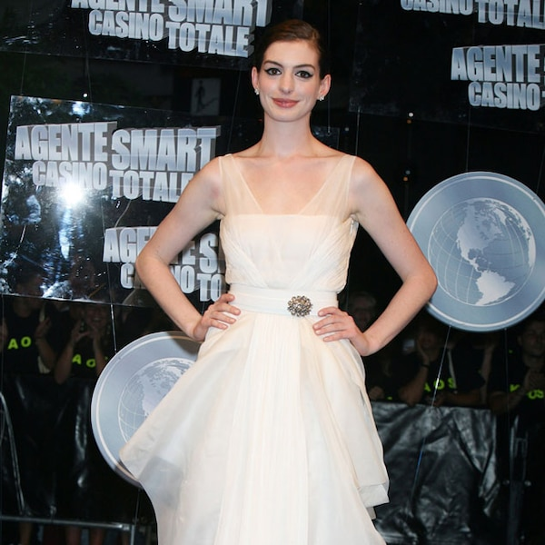 Anne Hathaway Get Smart: 5. 2008 Get Smart Premiere, Rome From Anne Hathaway's Top