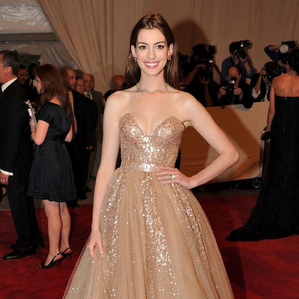 9. 2010 Met Costume Institute Gala From Anne Hathaway's