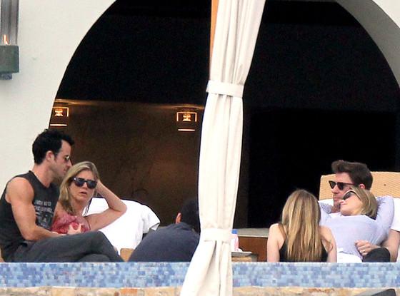 Jennifer Aniston, Justin Theroux, John Krasinski, Emily Blunt