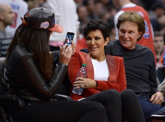 Khloe Kardashian Odom, Kris Jenner, Bruce Jenner