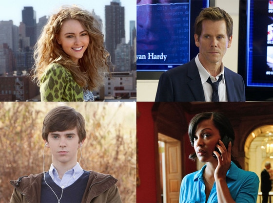 Anna Sophia Robb, The Carrie Diaries, Kevin Bacon, The Following, Meagan Good, Deception, Freddie Highmore, Bates Motel