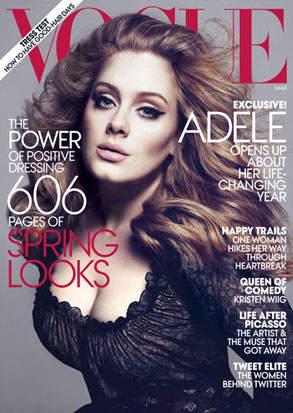 Adele, Vogue Cover