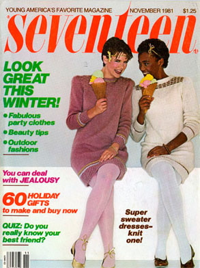 Whitney Houston, Seventeen Magazine