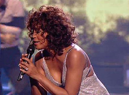 Whitney Houston, XFactor UK