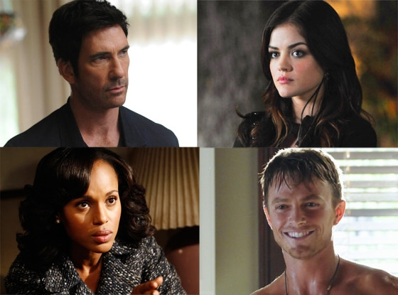 Lucy Hale, Pretty Little Liars, Dylan McDermott, American Horror Story, Kerry Washington, Scandal, Wilson Bethel, Hart of Dixie