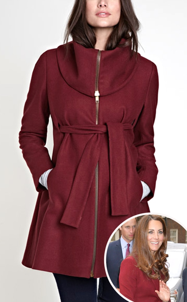 Kate Middleton, Catherine Duchess of Cambridge, Sophie Zip Coat