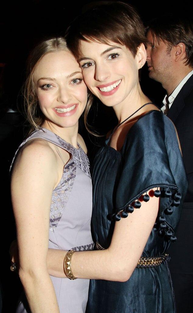 Amanda Seyfried, Anne Hathaway