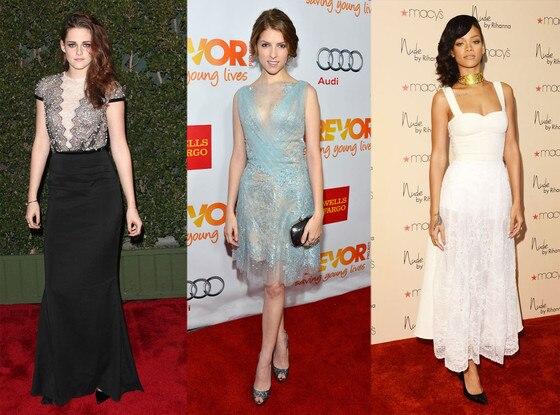 Kristen Stewart, Anna Kendrick, Rihanna