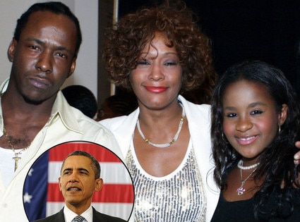 Bobby Brown, Whitney Houston, Bobbi Kristina, Barack Obama