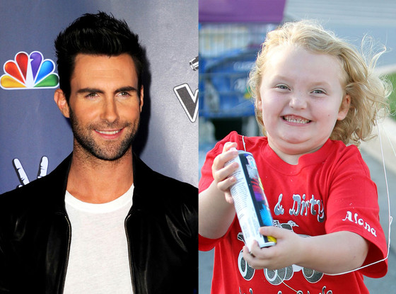 Adam Levine, Honey Boo Boo