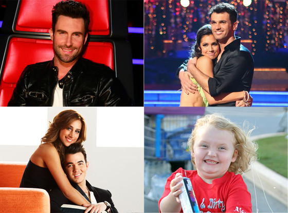 Married to Jonas, The Voice, Dancing With the Stars, Here Comes Honey Boo Boo