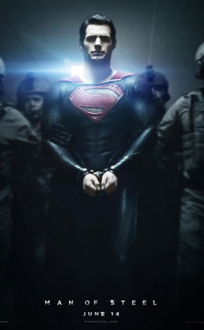 Henry Cavill, Man of Steel Poster