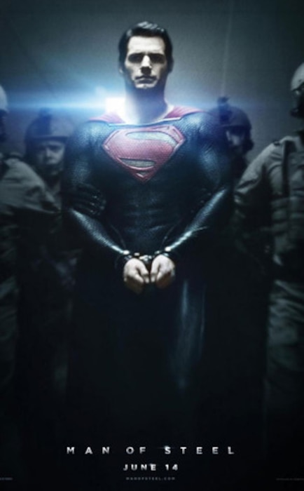 Henry Cavill, Man of Steel Poster