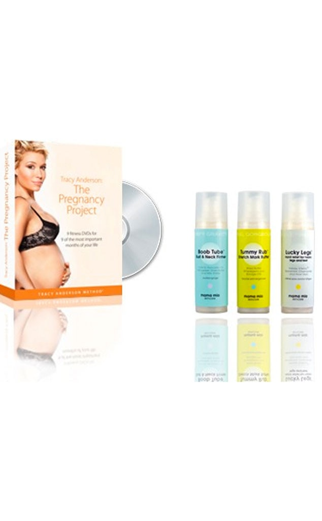 Kim Kardashian Maternity Must Haves, Pregnancy Stretch Kit