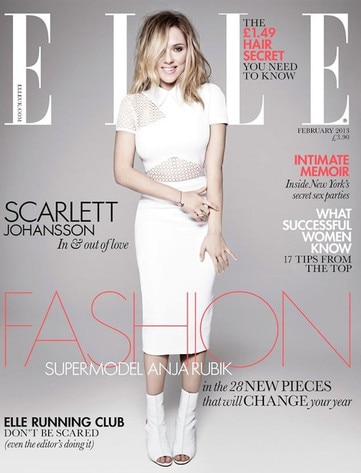 Scarlett Johansson, Elle UK Cover