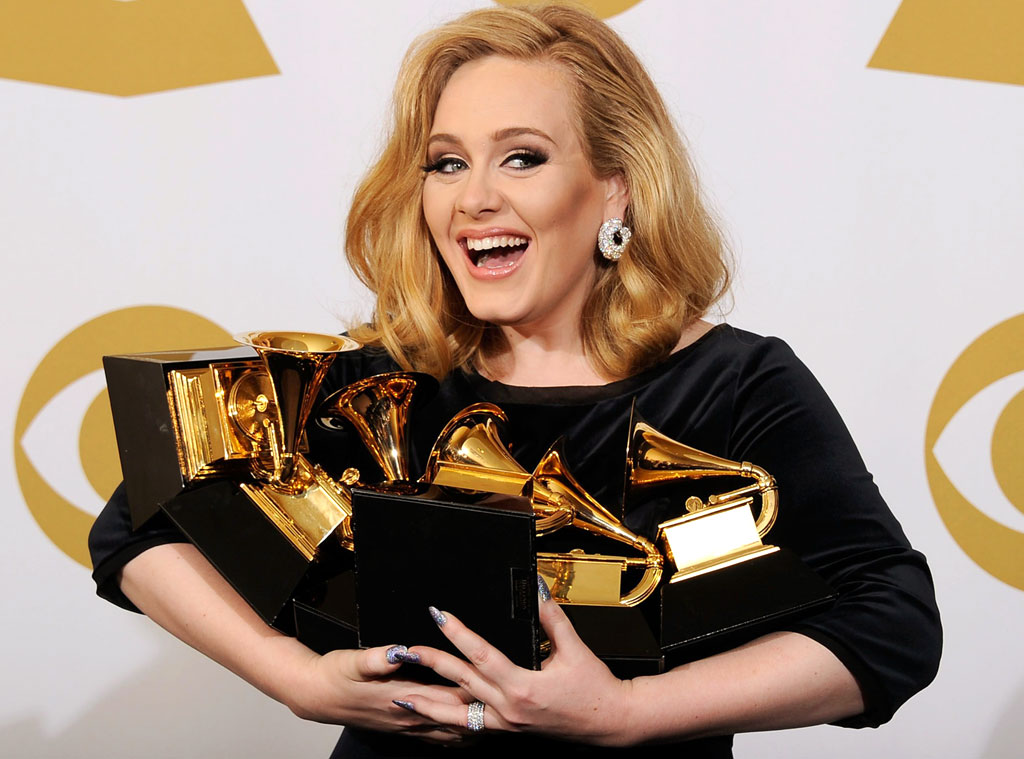 Adele to perform at next month's GRAMMY awards