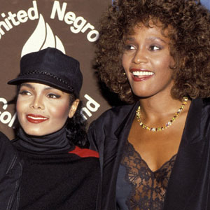 Janet Jackson, Whitney Houston