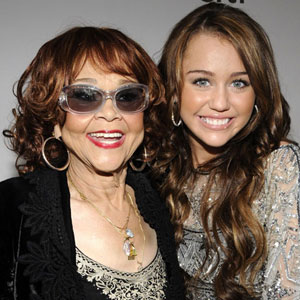 Etta James, Miley Cyrus