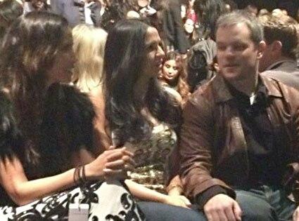 Matt Damon, Twitter, Padma Lakshmi