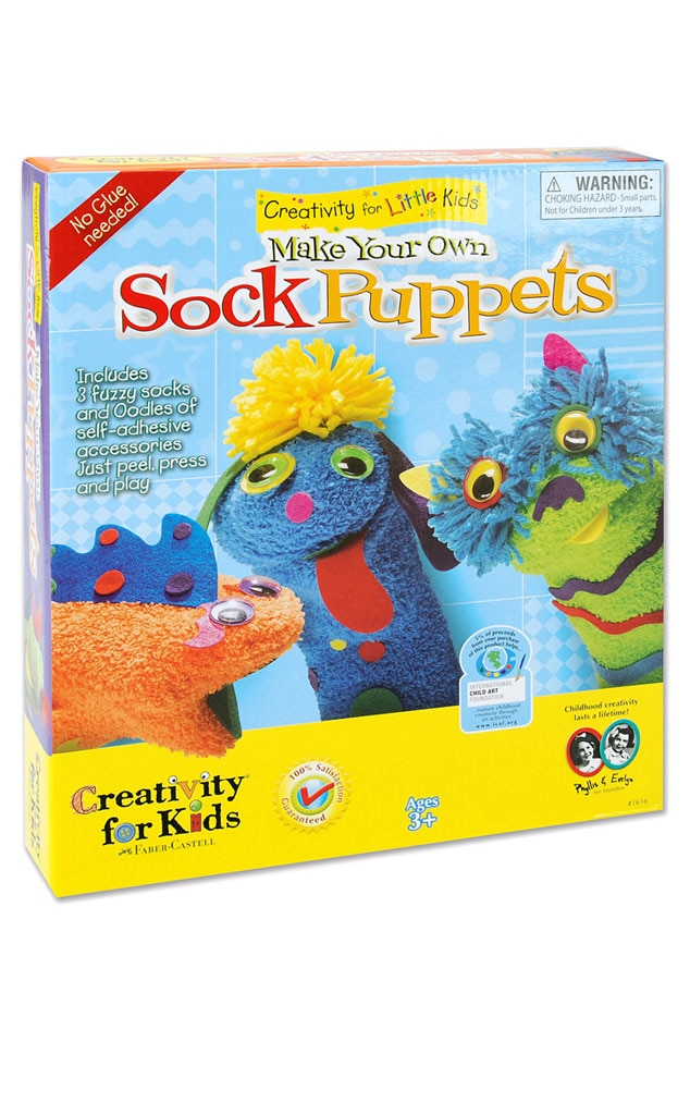 Art of Elysium Sock Puppets Kit