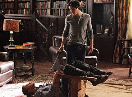 Taylor Kinney, Ian Somerhalder, THE VAMPIRE DIARIES