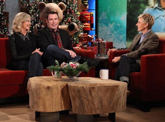 The Ellen DeGeneres Show,  JOHN TRAVOLTA, OLIVIA NEWTON-JOHN