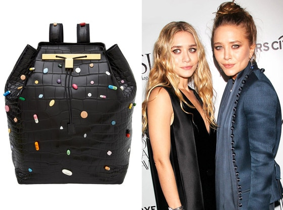 Mary Kate Olsen, Ashley Olsen, Damien Hirst Pill Bag
