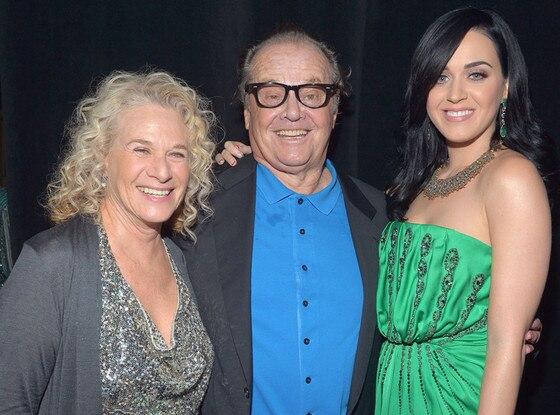 Carole King, Jack Nicholson, Katy Perry