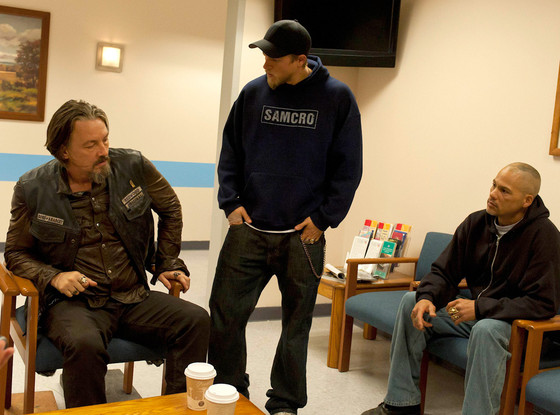 SONS OF ANARCHY, Tommy Flanagan, Charlie Hunnam, David Labrava