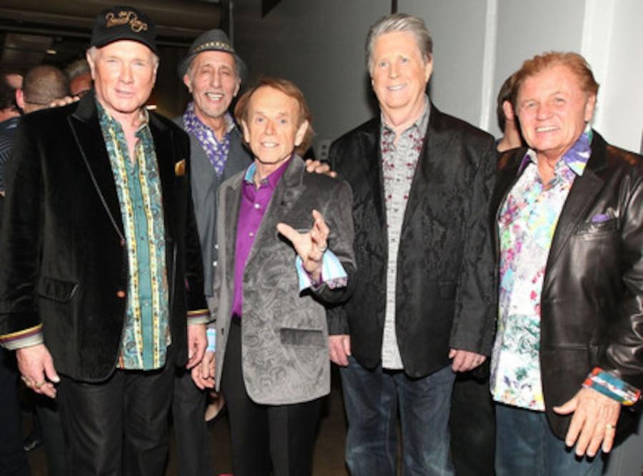 Beach Boys, Mike Love, David Marks, Al Jardine, Brian Wilson, Bruce Johnston