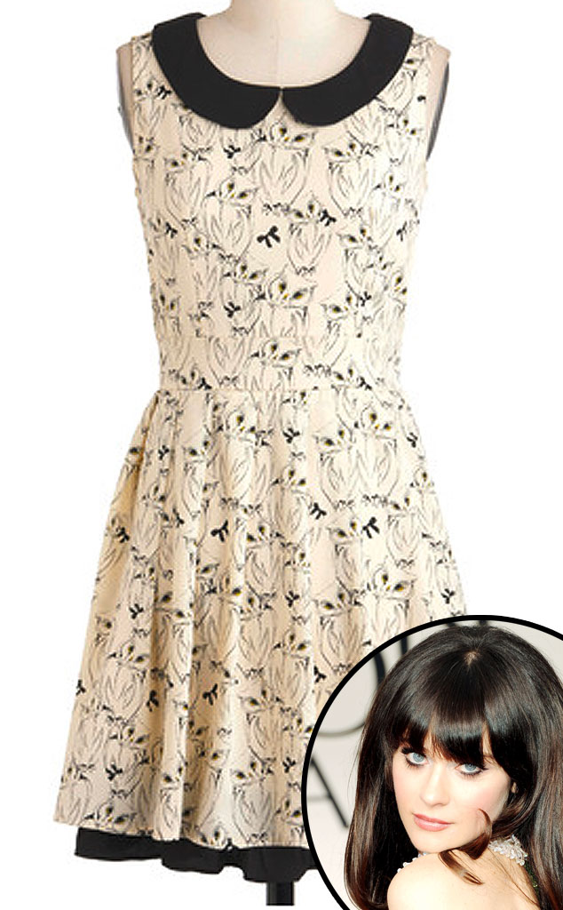 Zooey Deschanel, It's Hoot You Know Dress