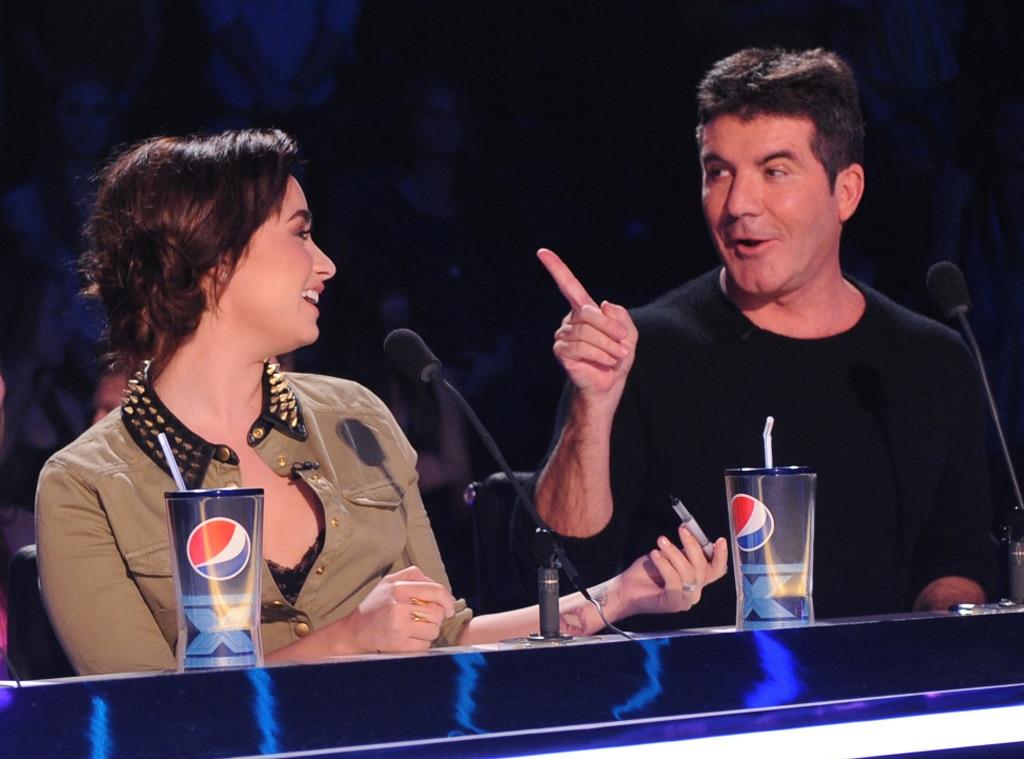 Demi Lovato, Simon Cowell, X Factor