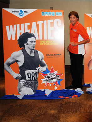 Bruce Jenner, Wheaties