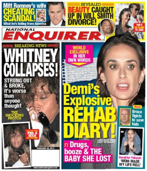 National Enquirer, 2/20/12