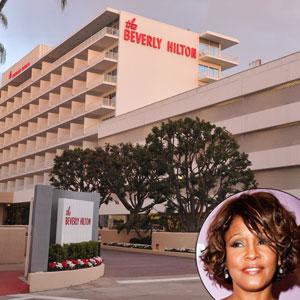 Beverly Hills Hotel, Whitney Houston