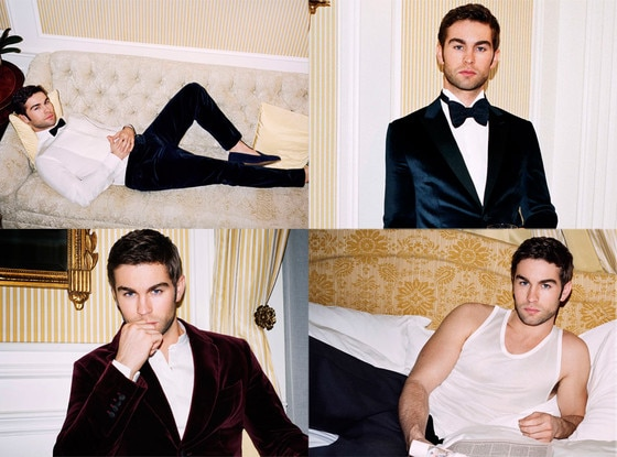 Chace Crawford, Mr Porter