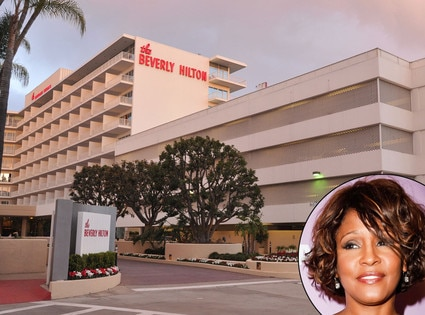Beverly Hills Hotel, Whitney Houston