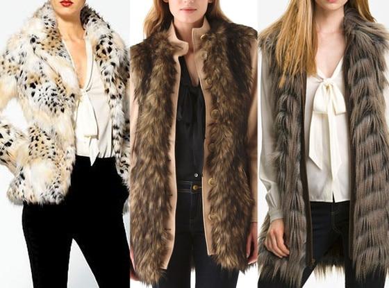 Rachel Zoe Faux Fur