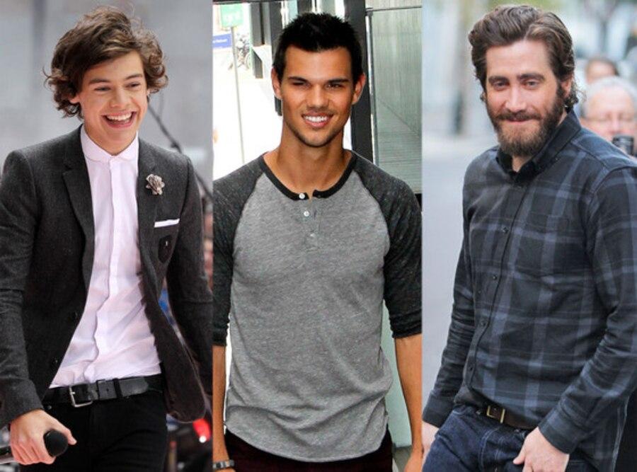Jake Gyllenhaal, Taylor Lautner, Harry Styles