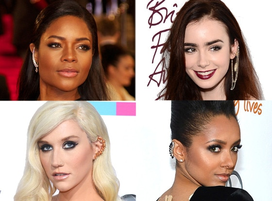 Naomie Harris, Lilly Collins, Kesha, Kat Graham
