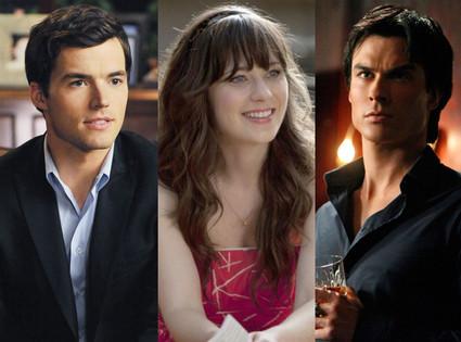 Pretty Little Liars, New Girl, The Vampire Diaries