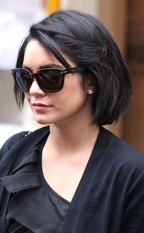 Ooh La La Vanessa Hudgens Debuts Sleek New Bob Haircut In