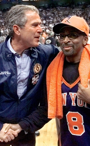 President Day Gallery, George Bush, Spike Lee