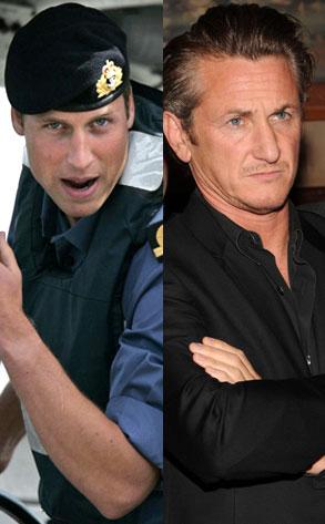 Prince William, Sean Penn