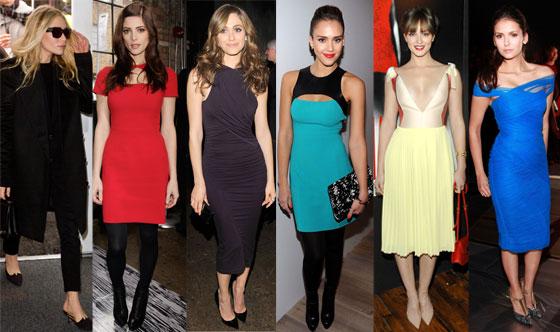 Emmy Rossum, Nina Dobrev, Ashley Greene, Leighton Meester, Jessica Alba, Mary Kate Olsen