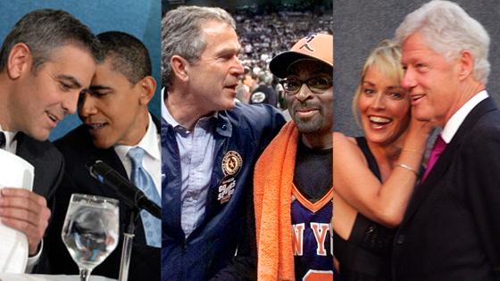 President Day Gallery, Barack Obama, George Bush, Bill Clinton