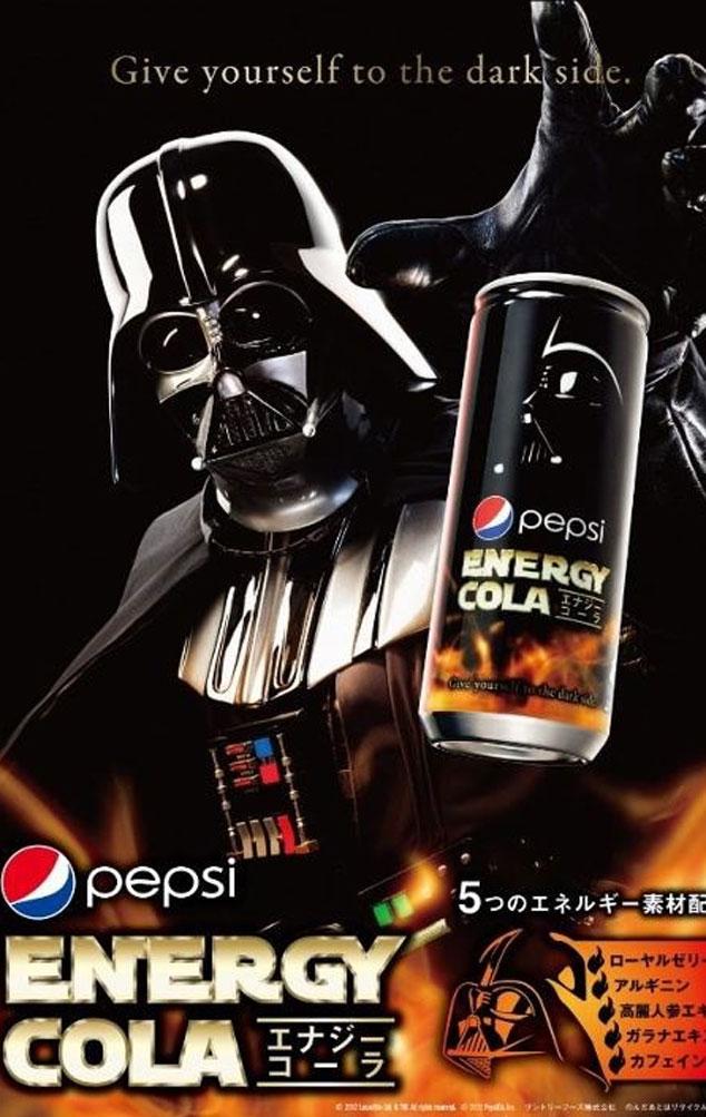 Darth Vader Pepsi Energy Drink
